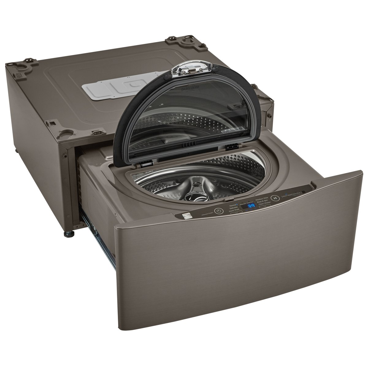 Kenmore Elite 51993 29' Wide Pedestal Washer In Metallic Silver, Includes Delivery And Hookup