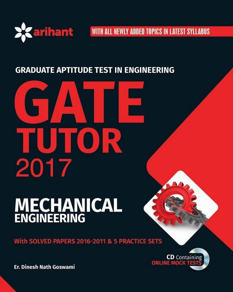Buy GATE Tutor 2017 Mechanical Engineering Book Online at