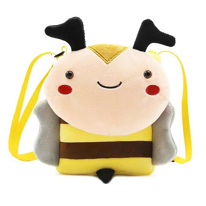 63194896cf137 Cute Small Toddler Backpack for Girl Boy Kids Plush 3D Animal Cartoon Mini  Preschool Bag for