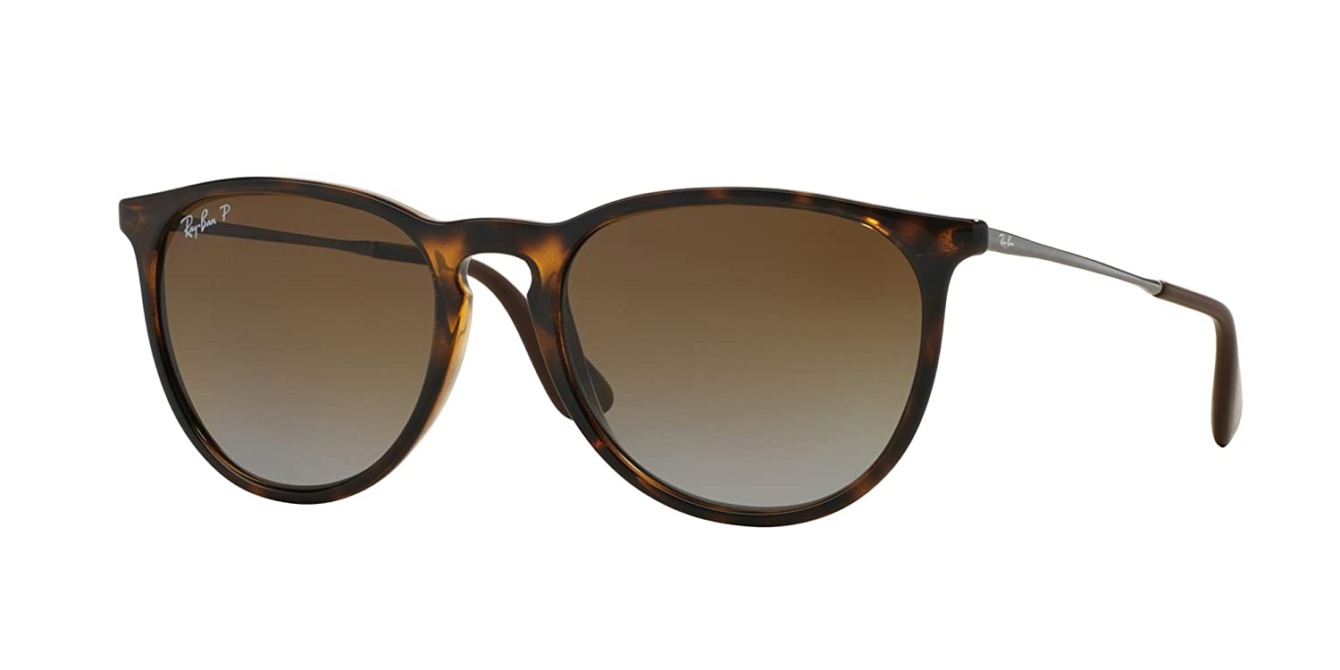 Ray Ban Erika RB4171 710T5 54mm Brown Frame Brown Polarized Lens