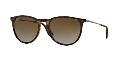 889e1aa569 Image Unavailable. Image not available for. Color  Ray Ban Erika RB4171  710T5 54mm Brown ...