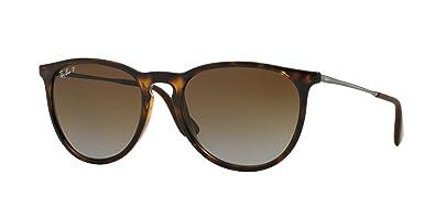 Amazon.com: Ray Ban Erika Mujer Wayfarer anteojos de sol (54 ...