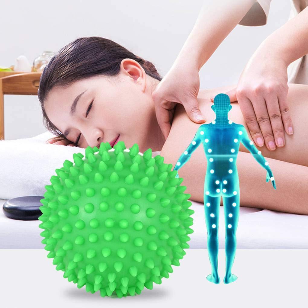 Lidahaotin Spiky Massage Trigger Point Sport Fitness Rouleau Yoga Balle Douleur Main Pied Soulager la Circulation Sanguine du Stress