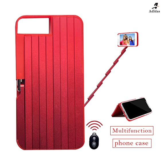 iphone 8 3 in one case red