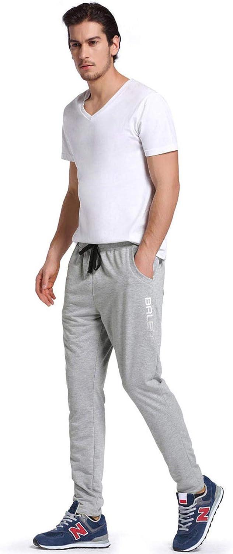 BALEAF Herren Jogginghose Lang Polyester Elastisch Laufhose Sporthose