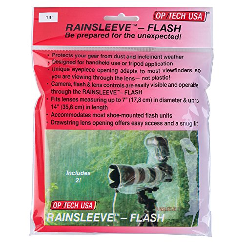 OP/TECH USA RainSleeve - Flash, Counter Display (20 Packs of 2) by OP/TECH USA