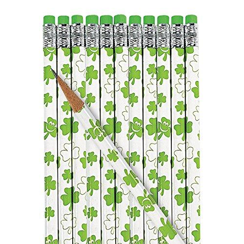 St Patrick's Day Pencils - Awards & Incentives & Pencils,2 dozen