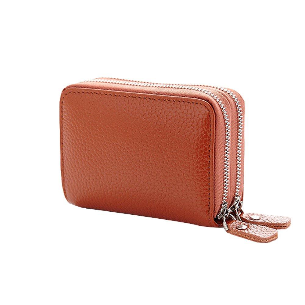 b5d3be2490d9 Amazon.com : ❤️Sunbona Card Holder Wallet Women's Leather Secure ...
