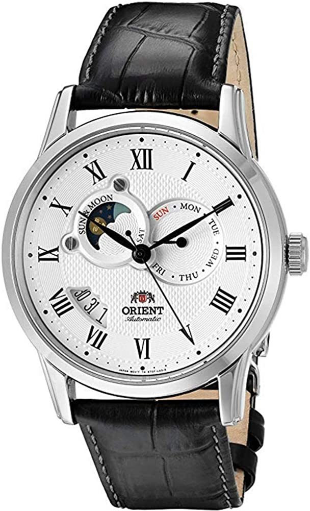 Orient Men s Sun and Moon Version 2 Japanese Automatic Watch