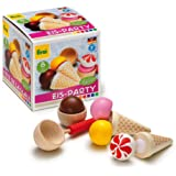 Erzi Spielzeug-Set, Supermarkt-Sortiment, Eiscreme-Party