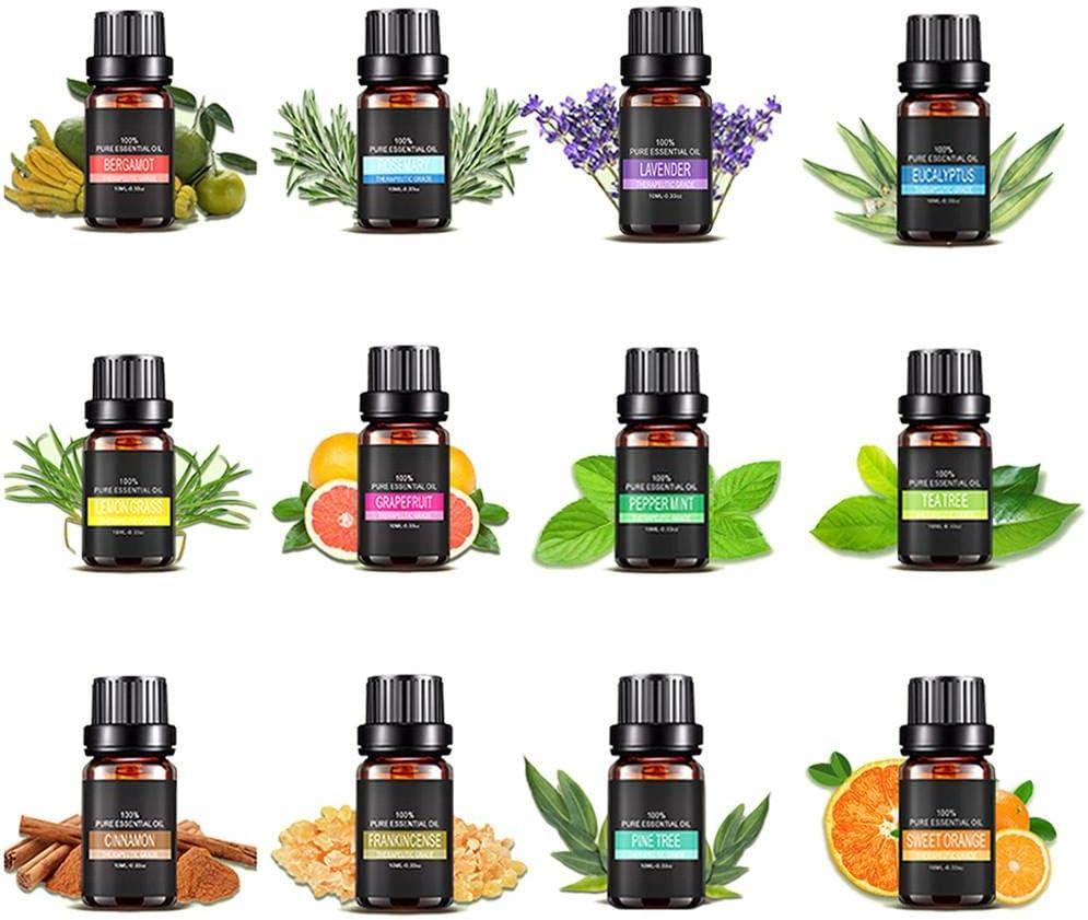 Prom-note Aceites Esenciales Aromáticos De Aromaterapia Aceite ...