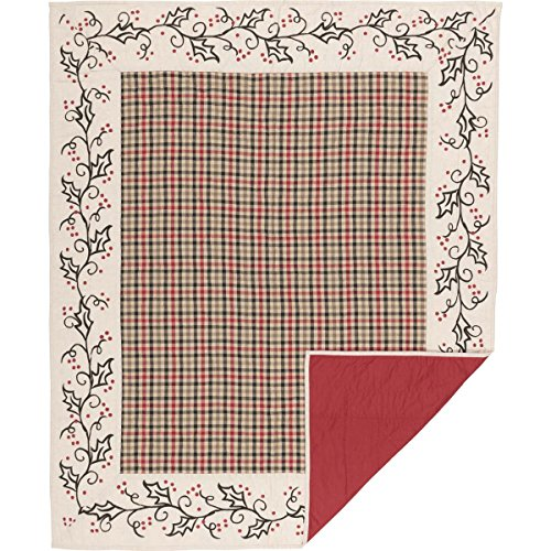 VHC Brands Seasonal Decor Hollis White Quilted Throw, from VHC Brands