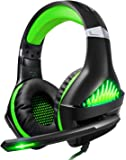 BlueFire Upgraded Professional PS4 Gaming Headset 3.5mm Wired Bass Stereo Noise Isolation Gaming Headphone with Mic and…