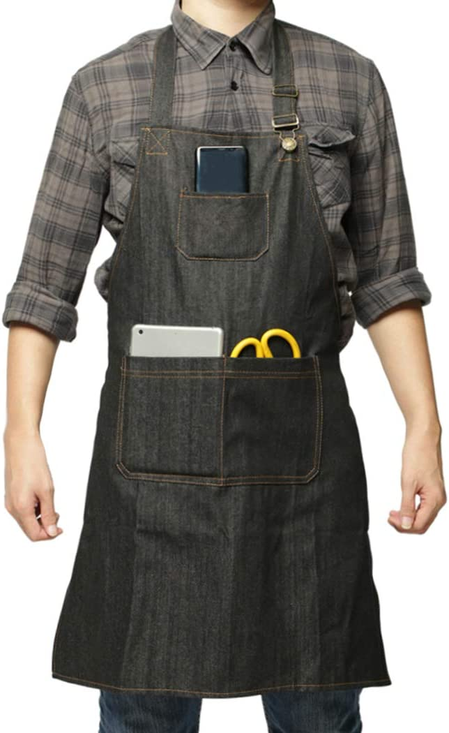 Galeton 8100 Shop Apron One Size Denim