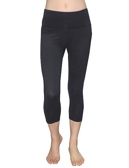 5f259486518dd Balance Collection (By Marika) Womens Skinny Leggings / Yoga Capri Pants XL  Black