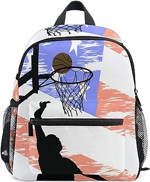 WowPrint - Mochila para niños de Baloncesto, para niños y niñas ...