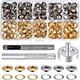 Tools & Hardware : Pangda Grommet Kit with 100 Set Grommets (1/ 4 Inch)