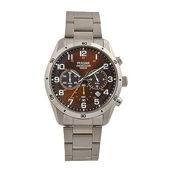 Pulsar Reloj los Hombres Sport Cuarzo Cronógrafo PT3843X1: Amazon.es: Relojes