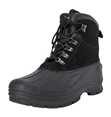 Men's Traveler Waterproof Winter Snow and Hiking Lace Up Boot