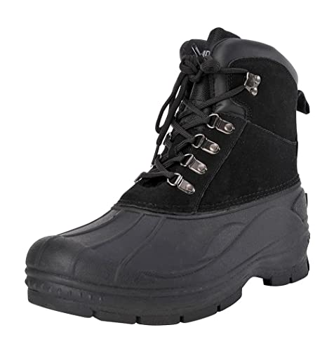 92b79664d9c Khombu Men's Traveler Waterproof Winter Snow and Hiking Lace Up Boot