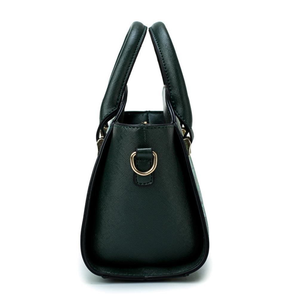 SanCanSn Crossbody Bags, Women Forest Girls Pattern Printing Single Shoulder Bag Handle Zipper Handbag (1PC, Green) by SanCanSn (Image #5)