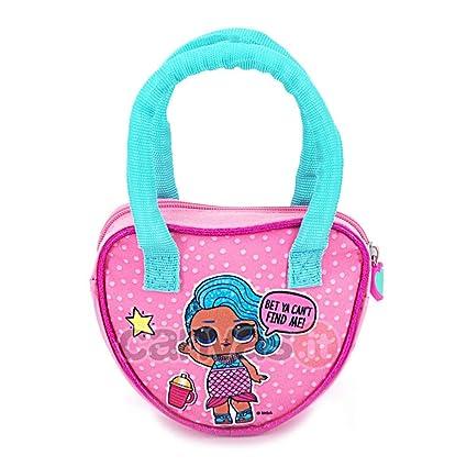 Kids LOL Surprise - Bolsa para niñas, Rosa, 16 cm