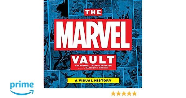 the marvel vault a visual history