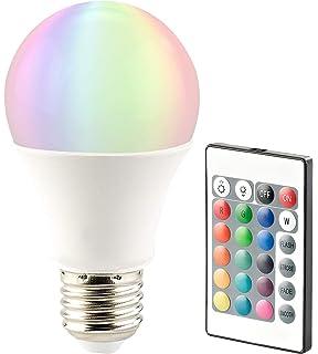 E27 RGB LED Leuchtmittel 7,5 Watt Farbwechsel Glüh Birne Fernbedienung 470 Lumen