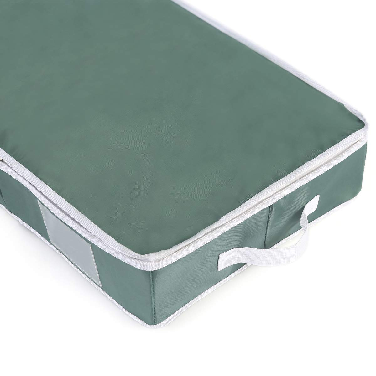 Holiday 42 Structured Wrap Storage Organizer,Under-Bed Storage Container for Holiday Storage of Gift Bags,Green VHO-009 Vencer