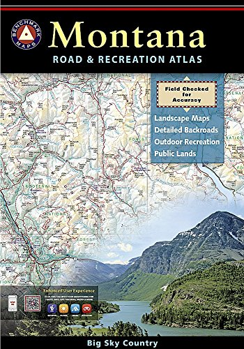 Montana Benchmark Road & Recreation Atlas