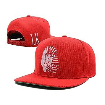 3d5b14fe0ce Last Kings Snapback Hats Snakeskin Mens Designer Snapbacks Caps Red LK   Amazon.co.uk  Sports   Outdoors