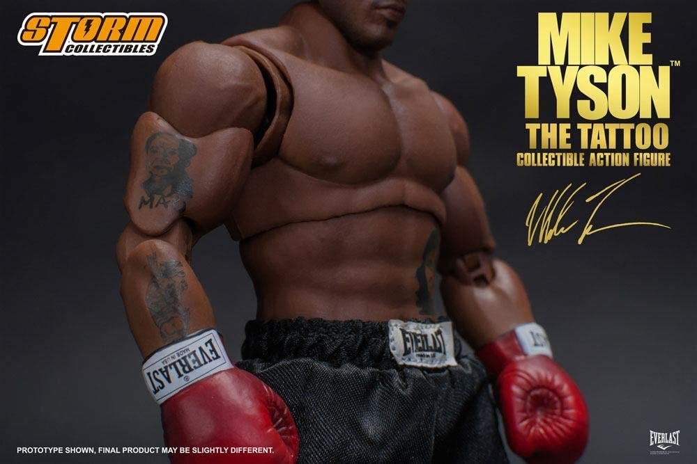 New Storm Collectibles Mike Tyson 1//12 Scale Action Figure Toys Gift In Box Gift
