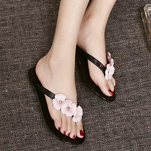 Zapatos de Antideslizante Moda Verano de Playa Zapatos Piscina Sandalias YMFIE Lady baño a Simple Pizca draga q6BnR5