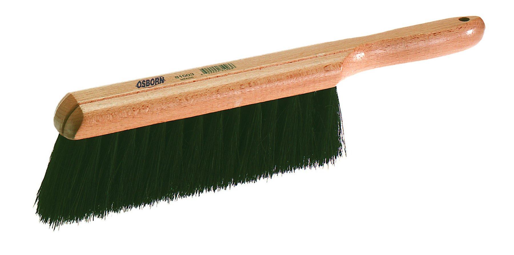 Osborn 81003 Economy Counter Duster, Black Tampico Bristle, 8'' Brush Length