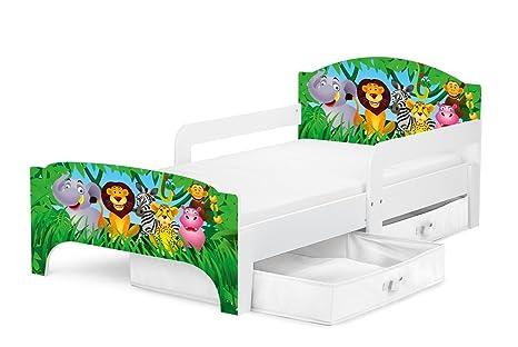 Letti Bassi Bambini : Smart letto lettino per bambini in legno cassetto cassettone e