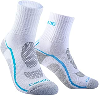 Forbestest Unisex Coolmax Sport Che Funziona Calze Uomo Donna Traspirante all'aperto Escursioni in Bicicletta Escursionismo Campeggio Pallacanestro Calze