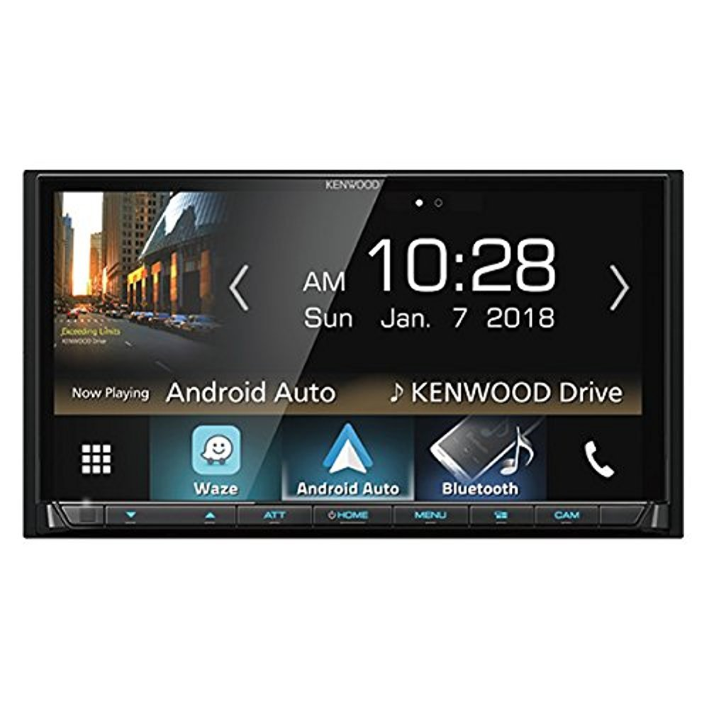 Kenwood Dmx7704s 2 Din Digital Media Receiver With Electrical Wiring Diagram Pioneer Ipod Cable Clarion Head Unit Bluetooth Hd Radio Cell Phones Accessories