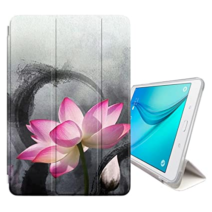 Amazon Fjcases Lotus Flower Beauty Smart Cover Stand Back