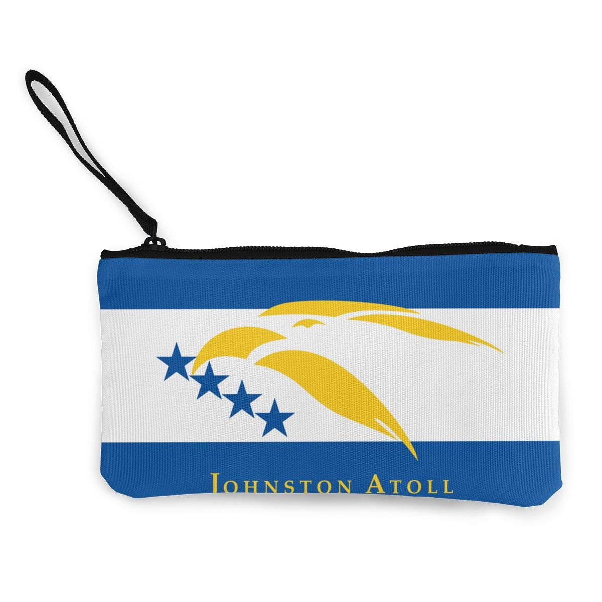 Cellphone Bag With Handle Make Up Bag DH14hjsdDEE Flag Of Johnston Atoll Zipper Canvas Coin Purse Wallet