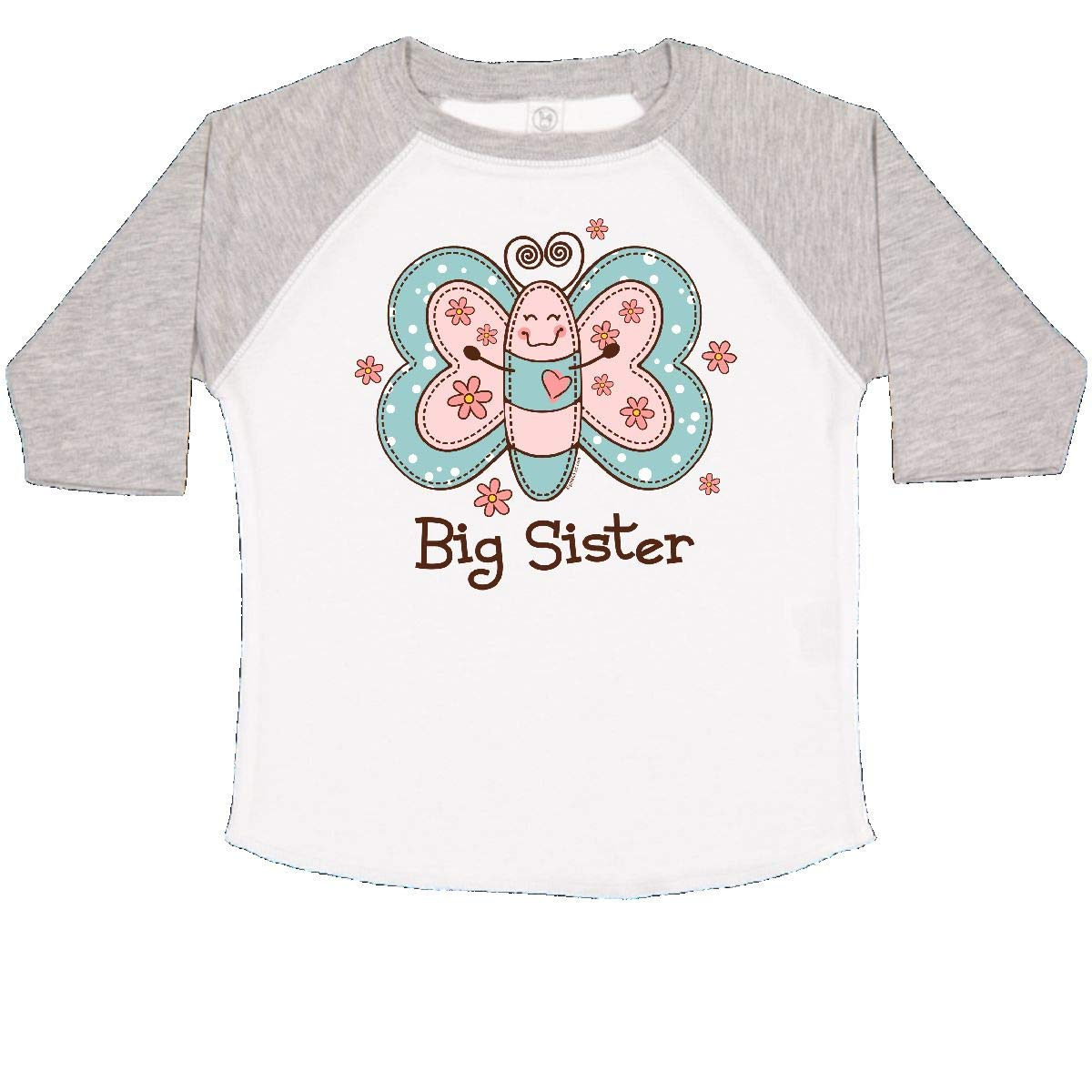 inktastic Butterfly Big Sister Toddler T-Shirt