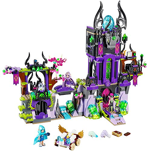 (LEGO Elves 41180 Ragana's Magic Shadow Castle Building Kit (1014 Piece) )