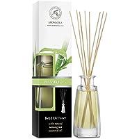 Bamboosmaak Binnenshuis 100 ml met 8 Rotansticks - Intense en Langdurige Aroma'S voor De Kamer - 0% Alcohol - 100…