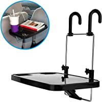 Portable Car Tablet Holder, Car Vehicle Seat Back Mount Tray, Foldable Hanging Laptop Desk and Car Dining Food Drink…
