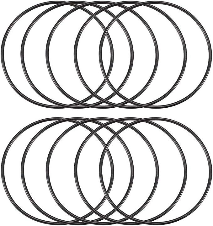 10 Stück Black Rubber Ölfilter Dichtung O Ring Dichtungen 50 Mm X 47 Mm X 1 5 Mm De Baumarkt