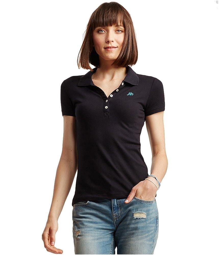 Aeropostale Womens A87 Polo Shirt 4163