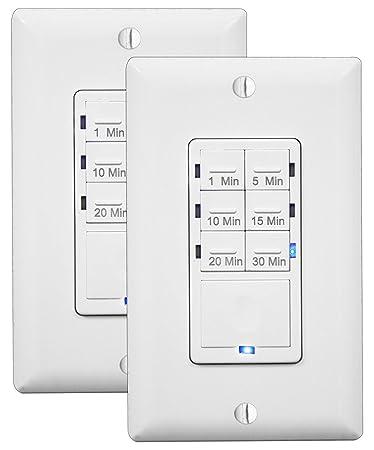 fan timer switch. in wall timer switch enerlites, fan timer, countdown switch, light d