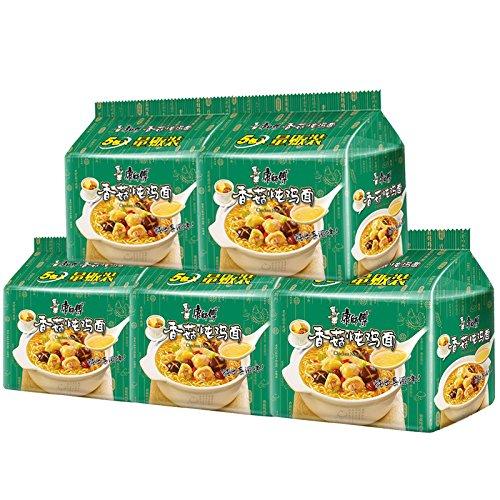 China Good Food China instant noodles 康师傅 经典袋香菇炖鸡面 95g5袋 5组组合装 kangshifu instant noodles