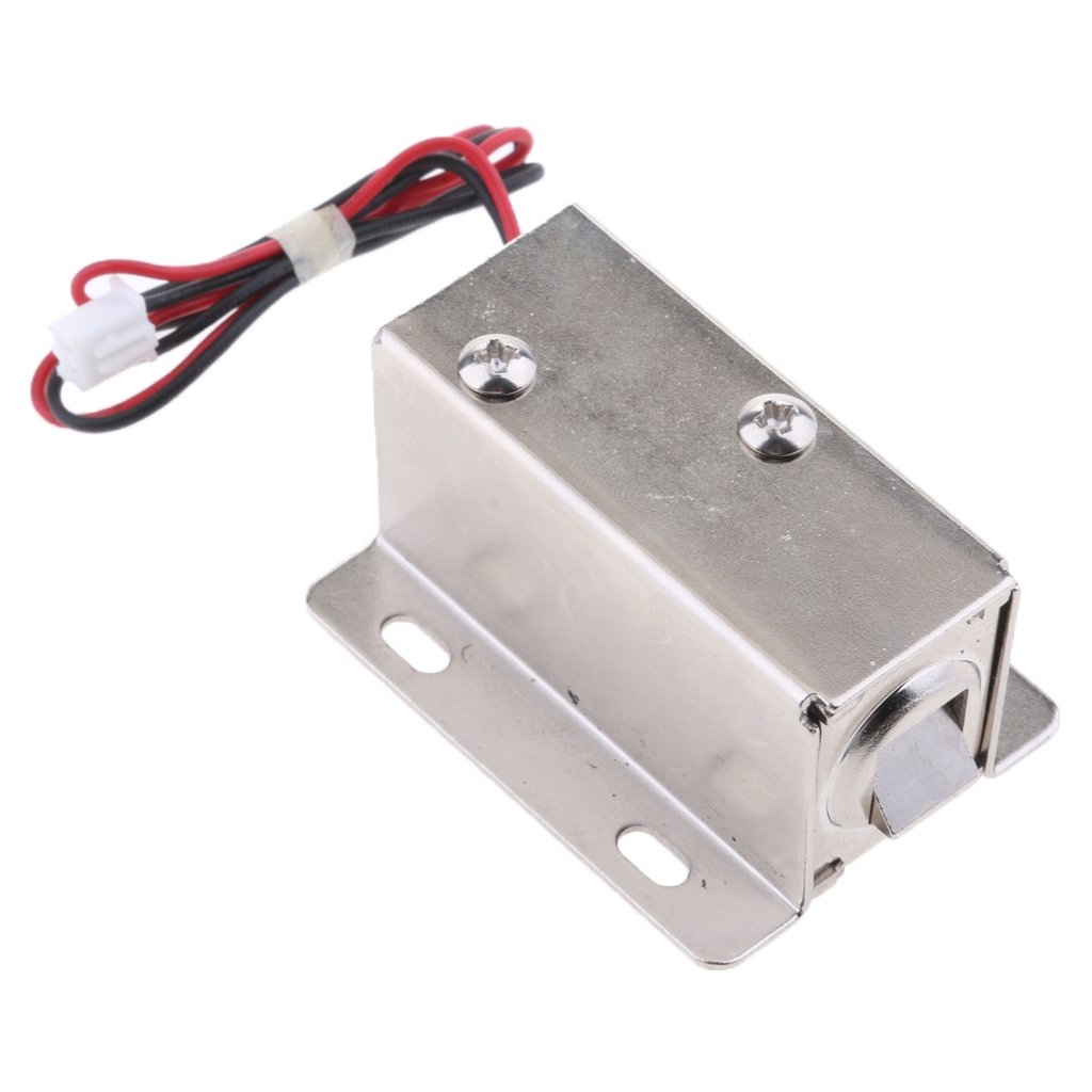 MagiDeal Premium Electrical Magnetic Lock for Doors Cabinets Gates Lockers 24V/0.52A Parts
