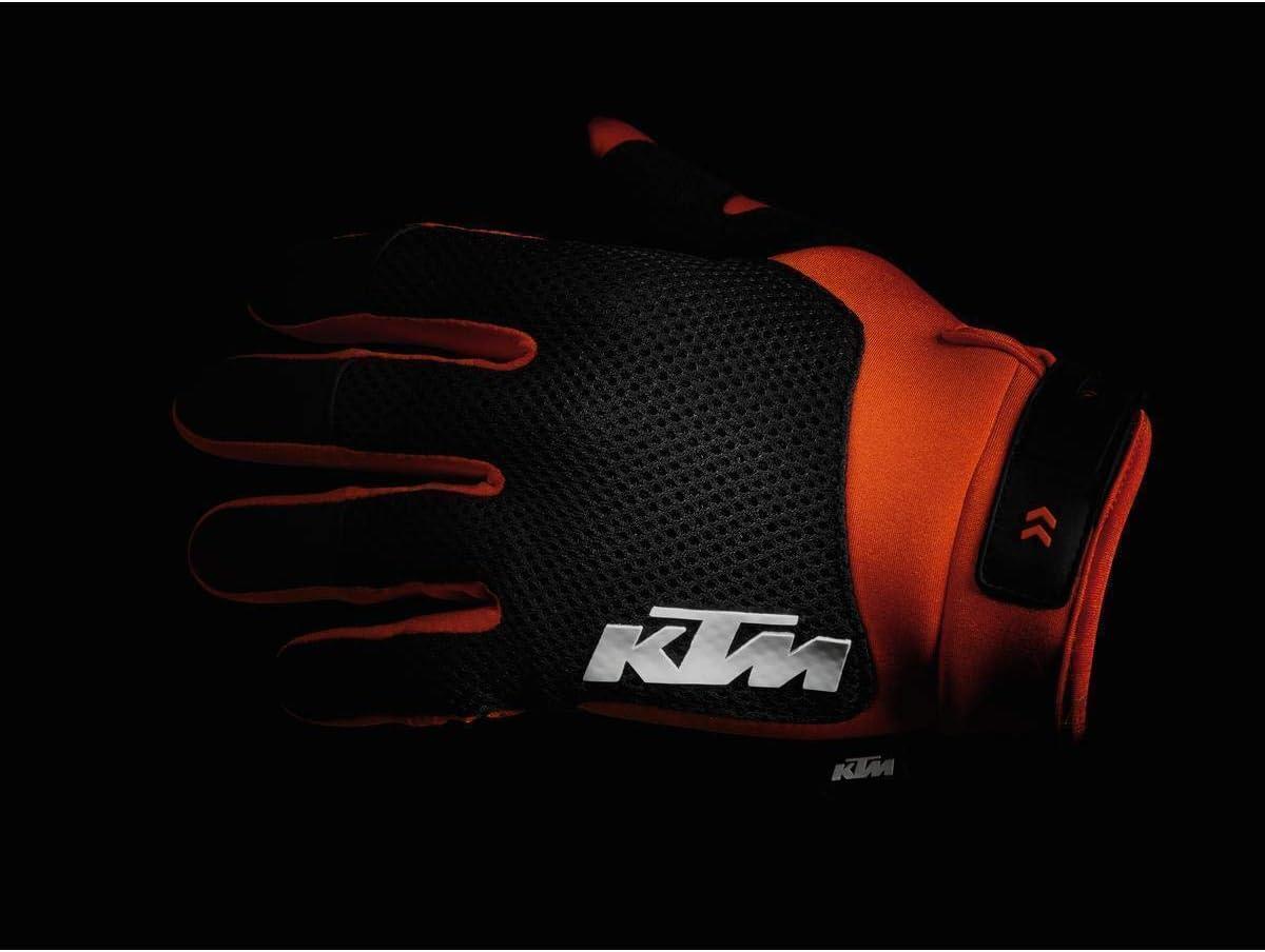 NEW KTM POUNCE GLOVES ORANGE SIZE MEDIUM 3PW200003703