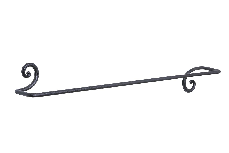 渦巻きタオルバーハンガーホルダー壁ハンガーバスルームやキッチン用、手作りでrtzen-décor B0763MTP5M